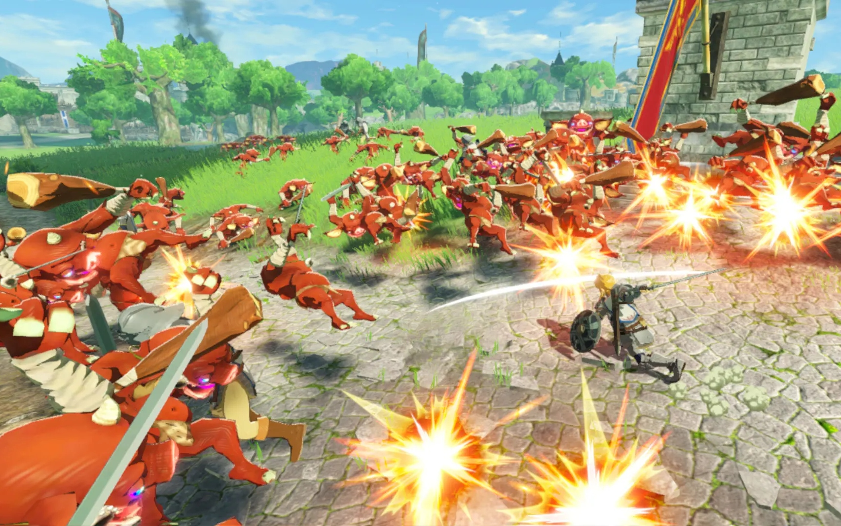 Hyrule Warriors: Age of Calamity' is a hack-and-slash 'Breath of the Wild' prequel | Engadget