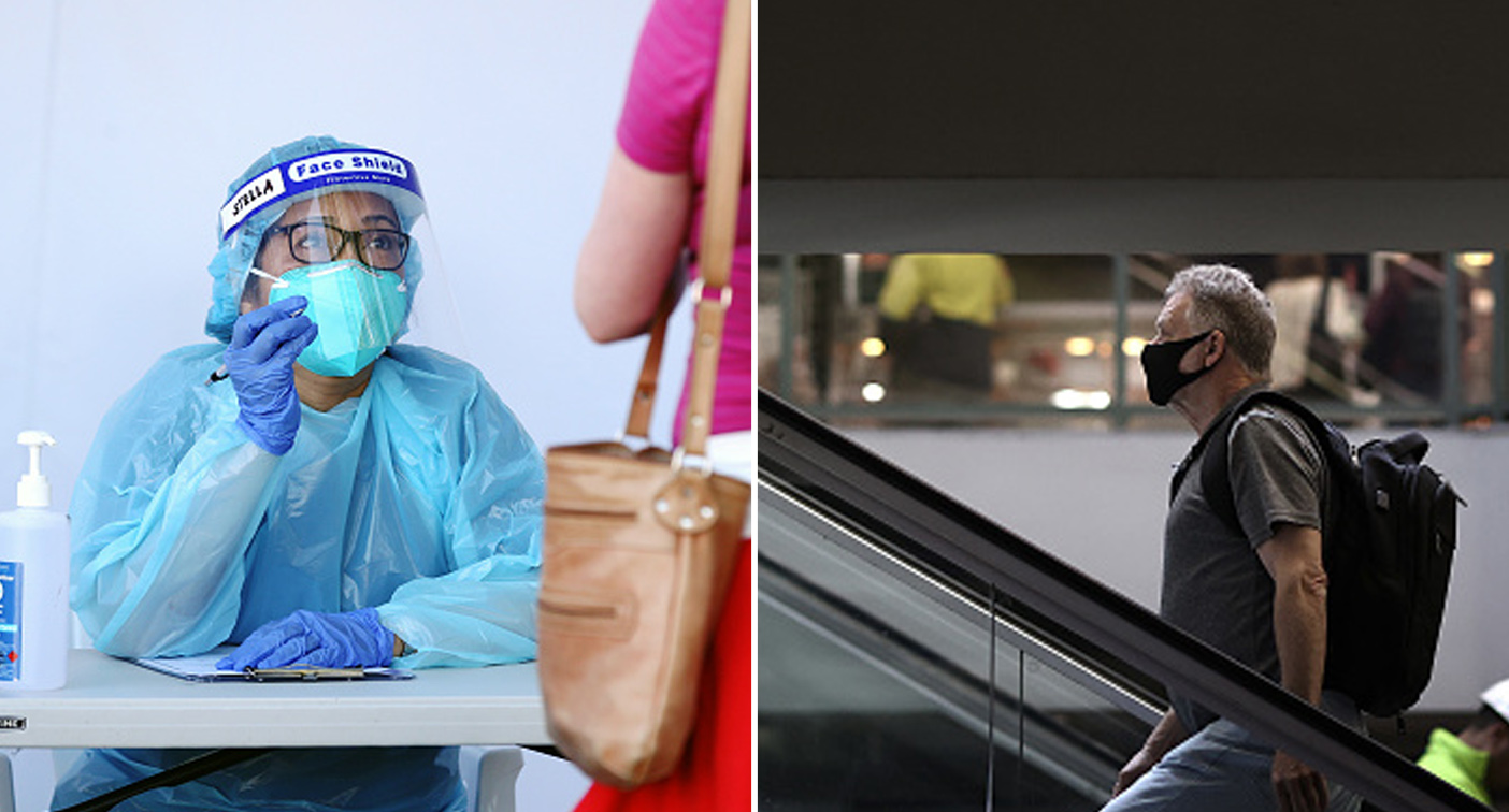 Coronavirus: Five new NSW cases, Queensland urged to open