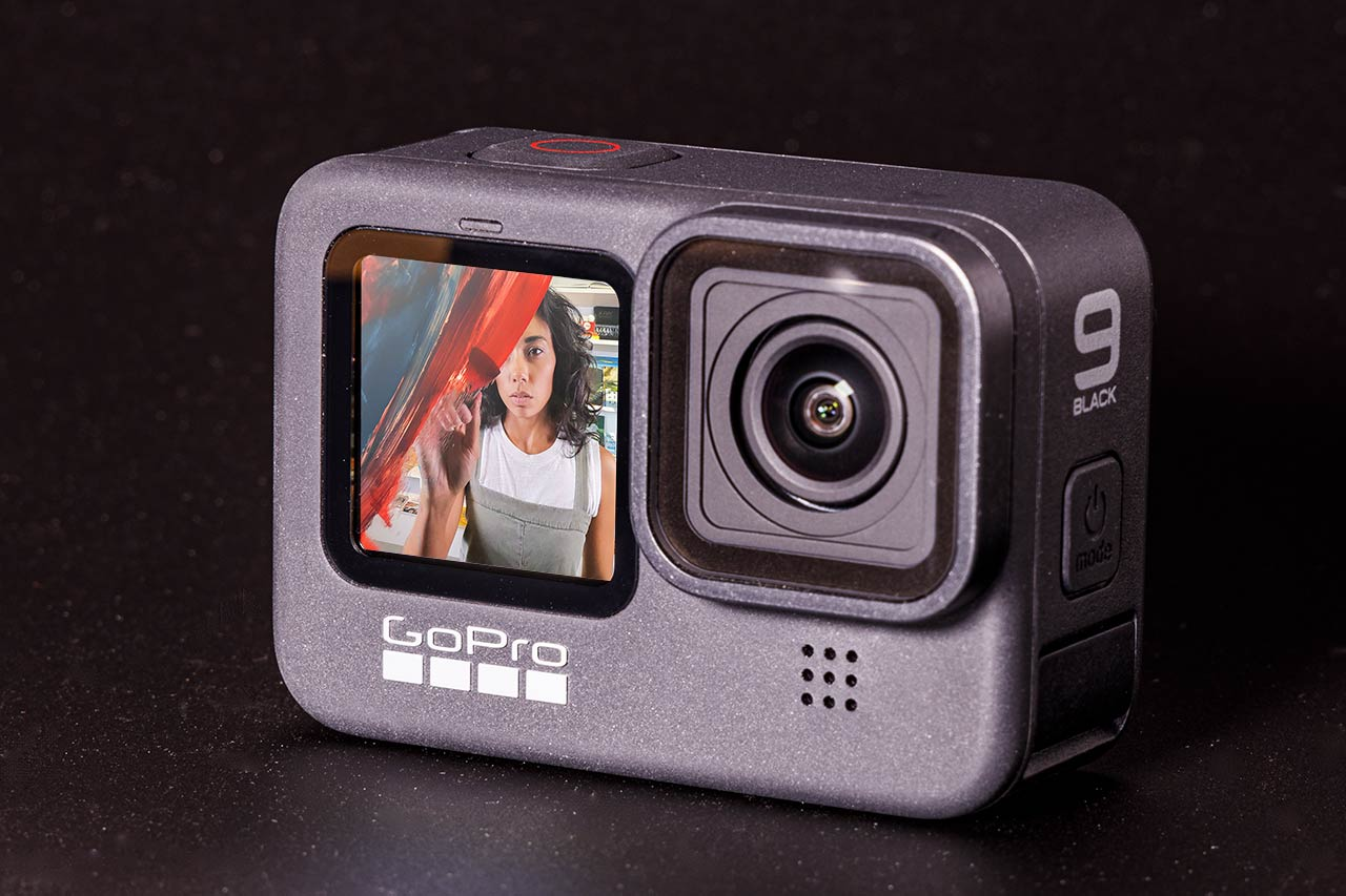 GoPro HERO9 Black review: a new front-facing display makes for a great selfie - Engadget 日本版
