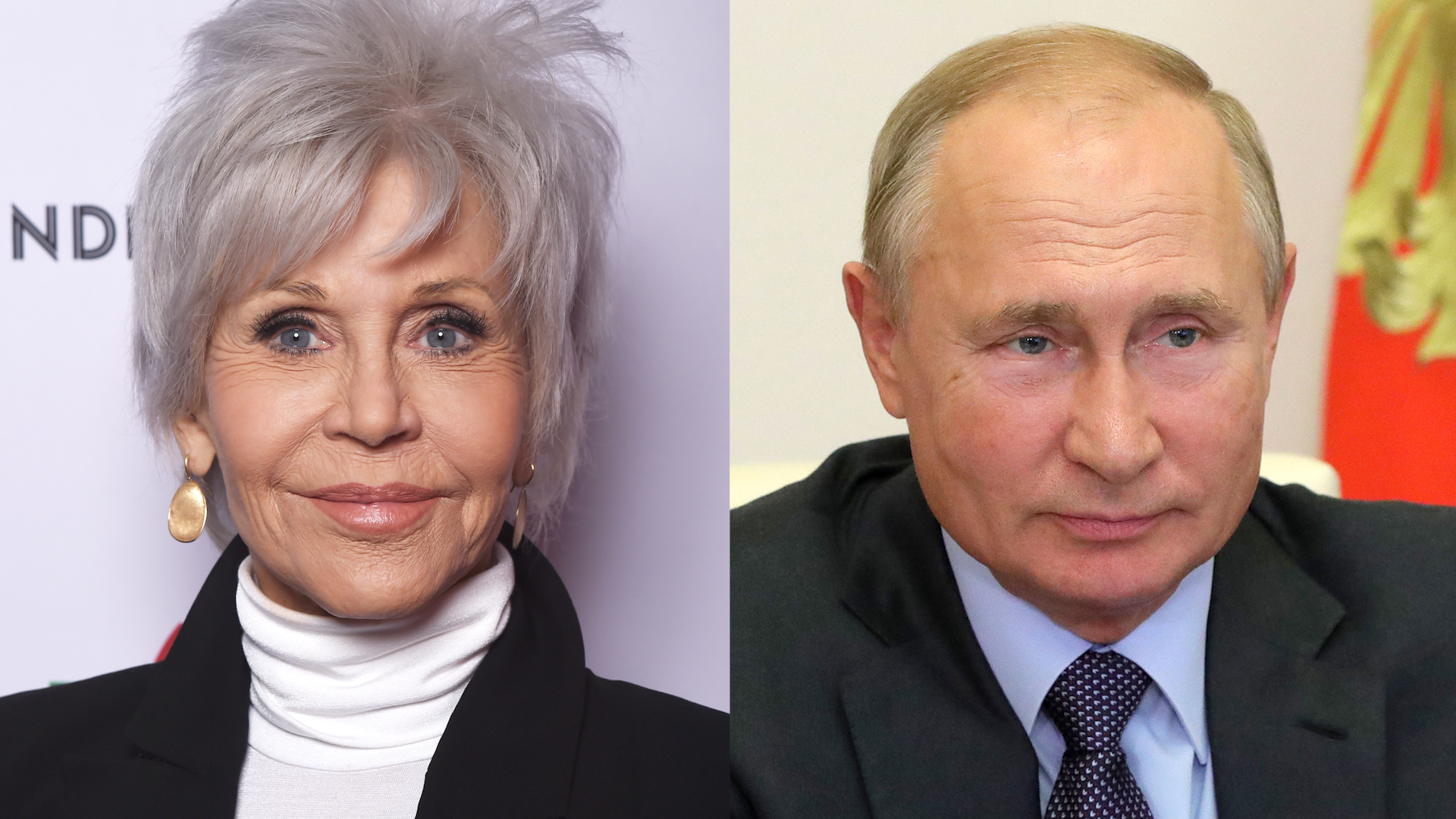 Jane Fonda's bizarre story about Vladimir Putin once being her travel guide