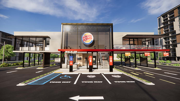 Burger King is designing 'touchless' restaurants for the COVID-19 era