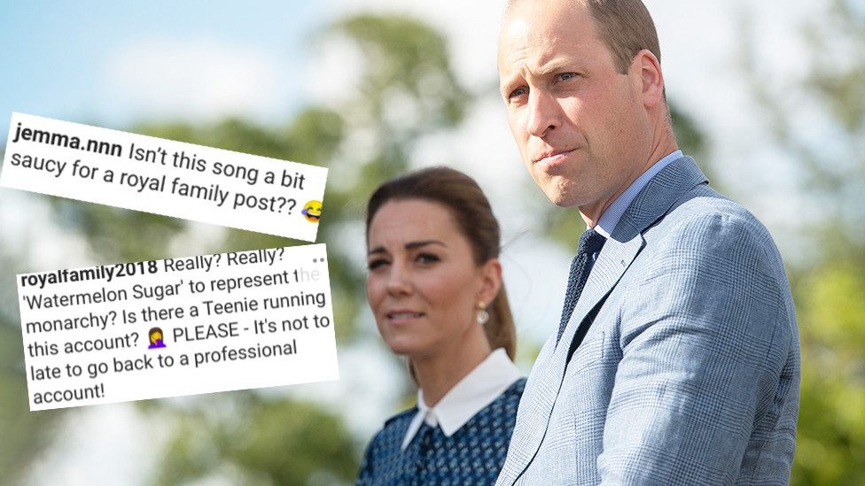 William and Kate's 'saucy' Instagram video causes a stir