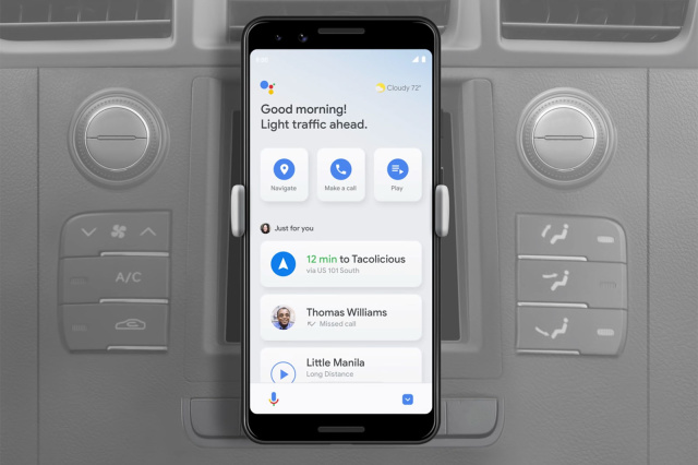 Google Assistant's Driving Mode seems to be rolling out a year late - Engadget 日本版