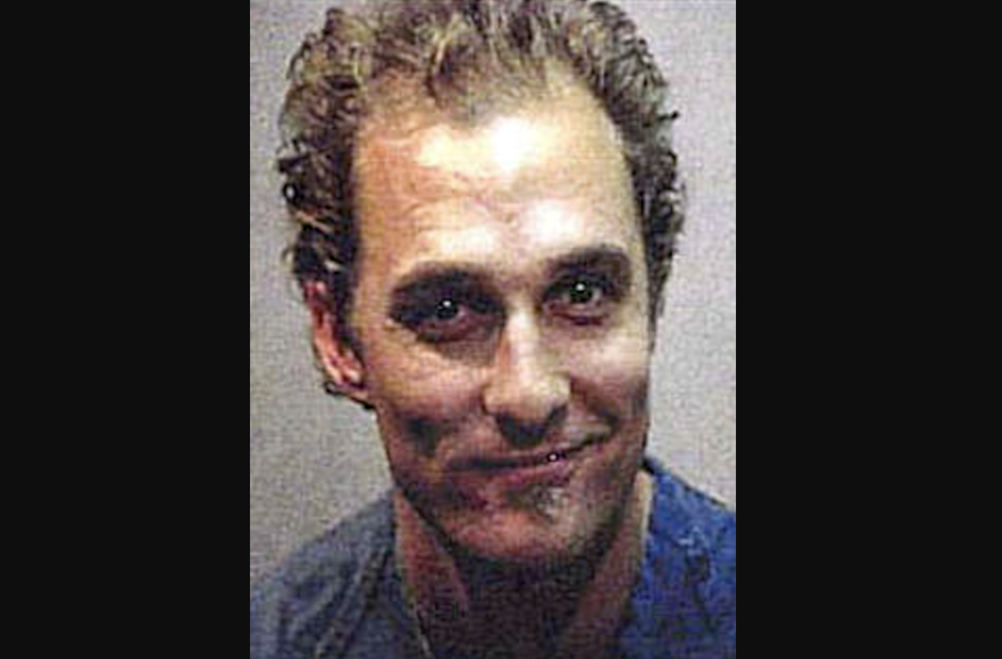 Matthew McConaughey on his 1999 nude bongo arrest: F**k