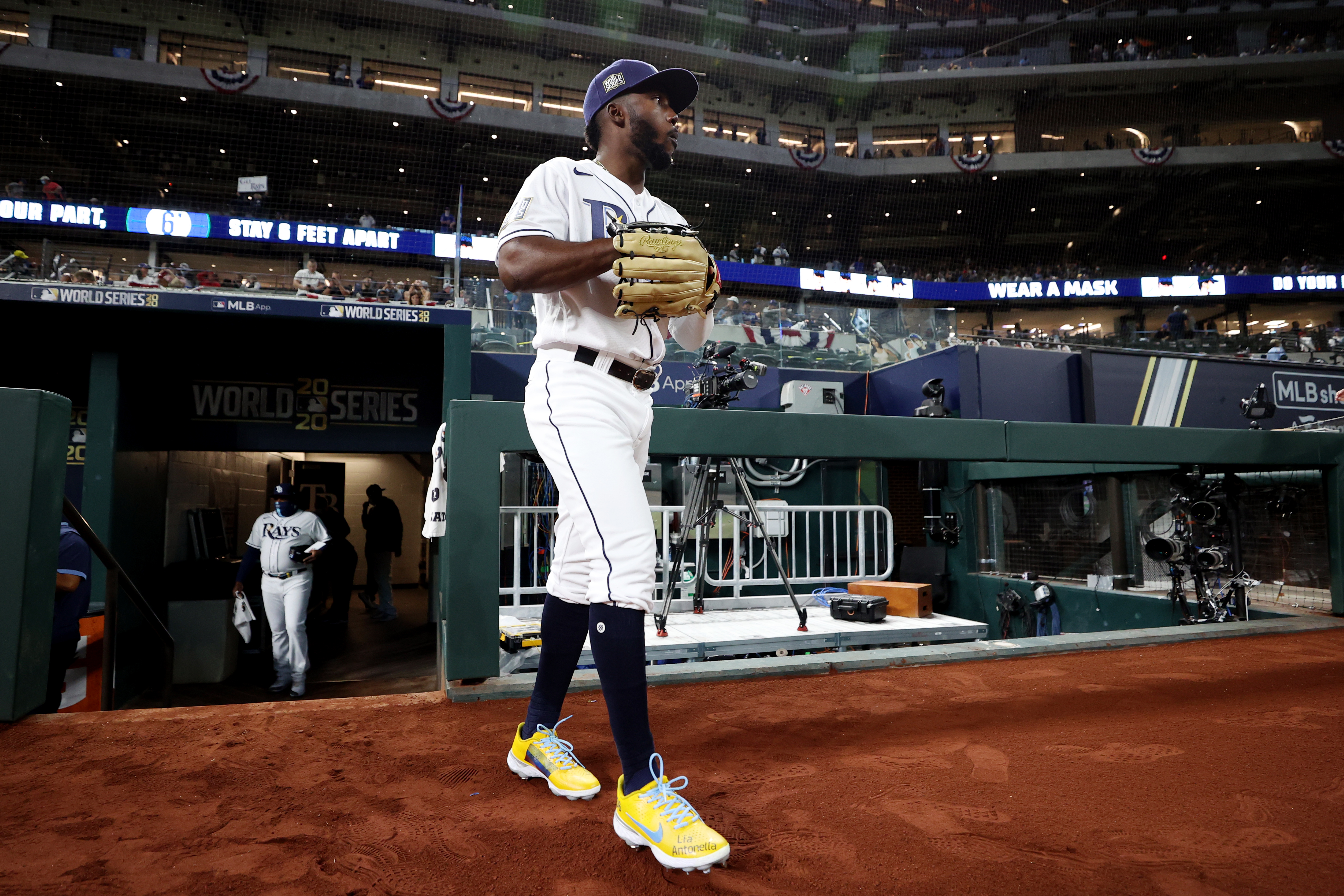 world series randy arozarena might not be on the rays if not for this scout https sports yahoo com randy arozarenas rise to rays postseason hero began with this scouts glowing report 011317739 html