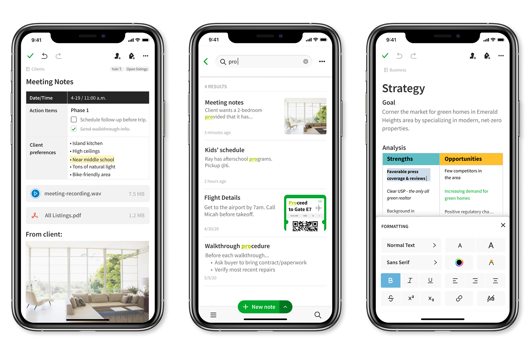 Evernote Redesign