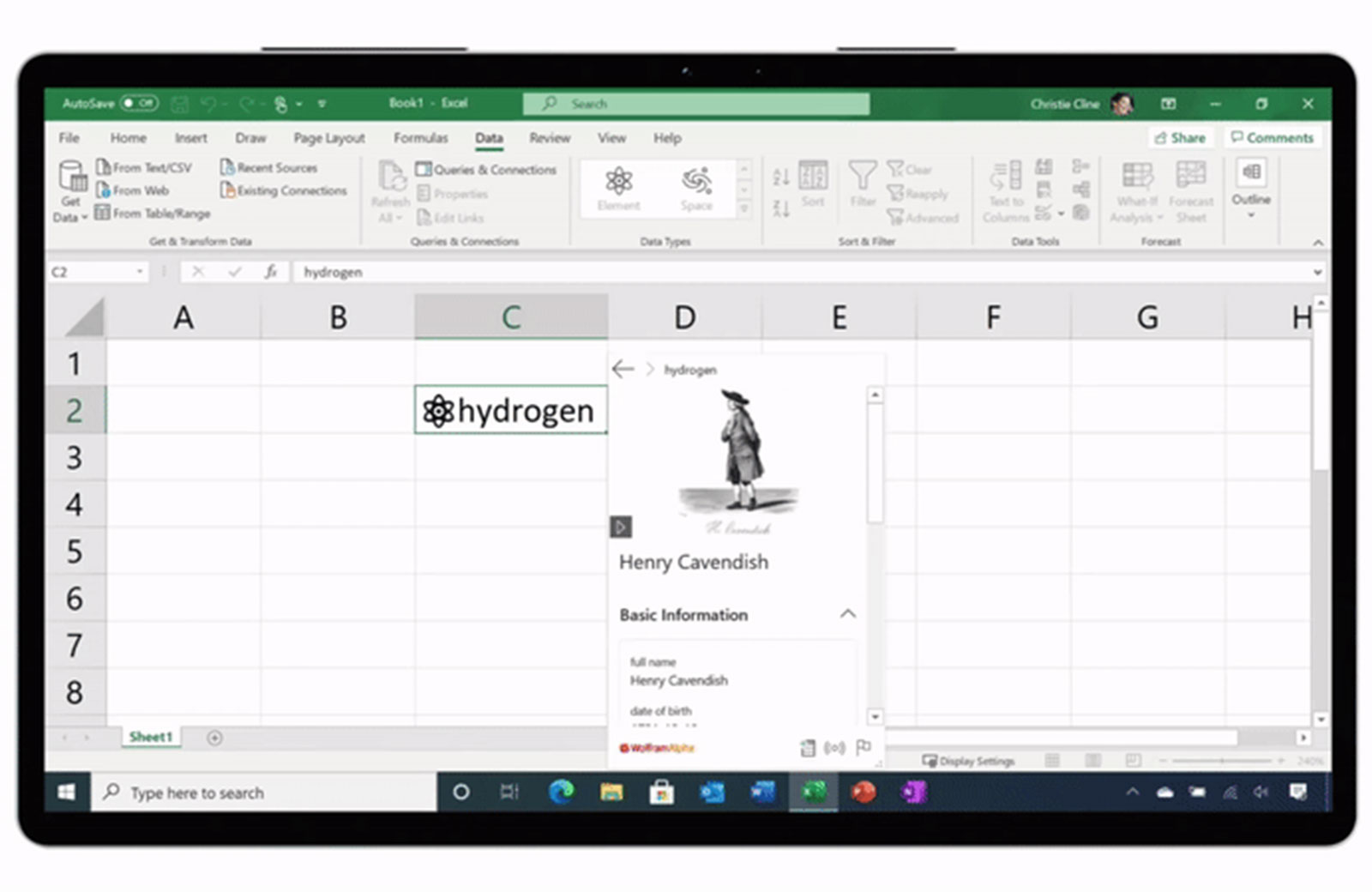 Microsoft Excel spreadsheets now take custom live data