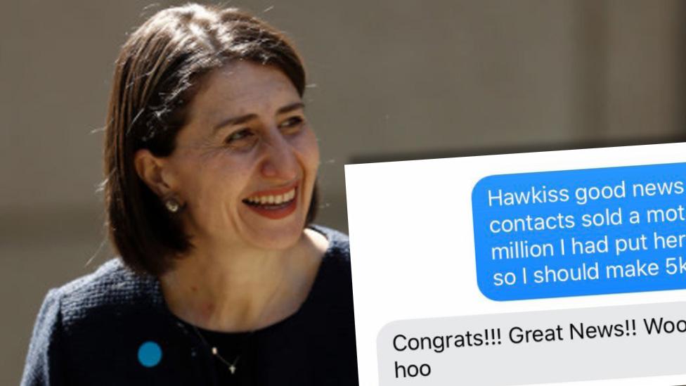 Ex-MP's secret nickname for Premier revealed in texts