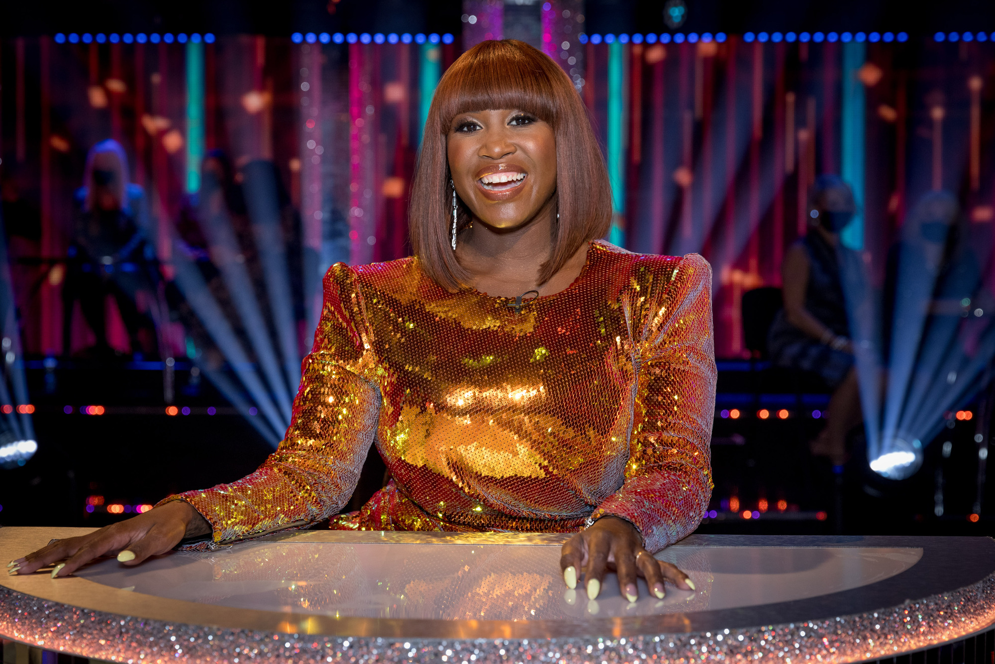 Picture Shows:  Motsi Mabuse - (C) BBC - Photographer: Guy Levy