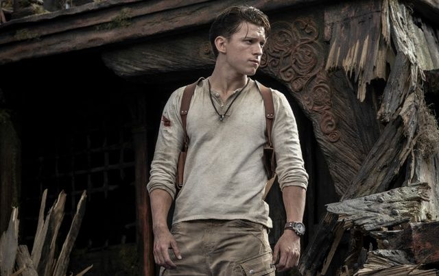 'Uncharted' set photos offer our first look at Tom Holland as Nathan Drake
