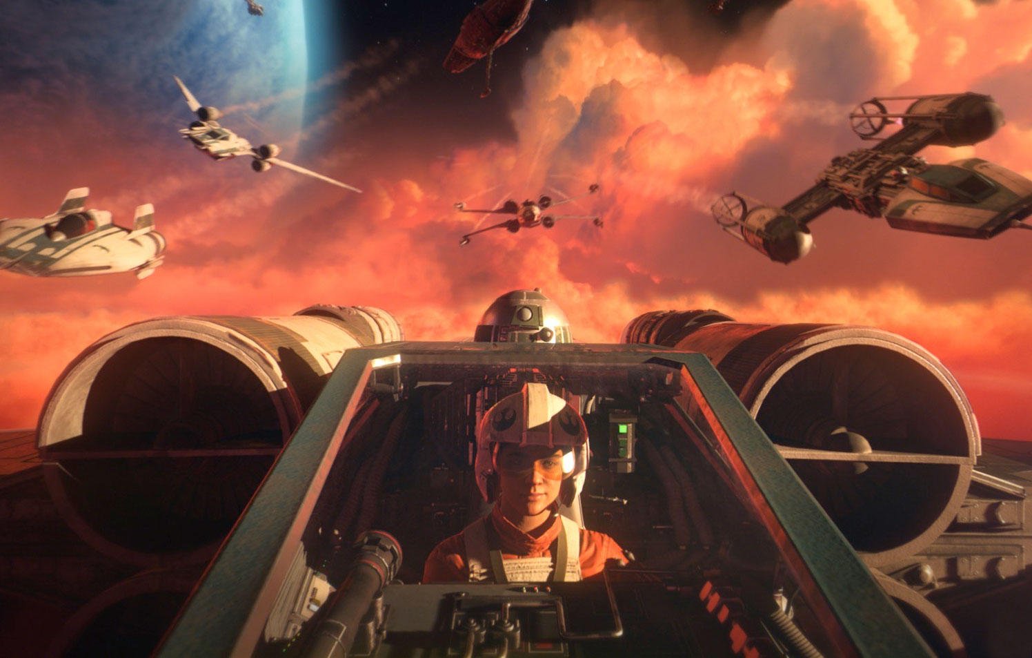'Star Wars: Squadrons' is a perfectly pitched VR game