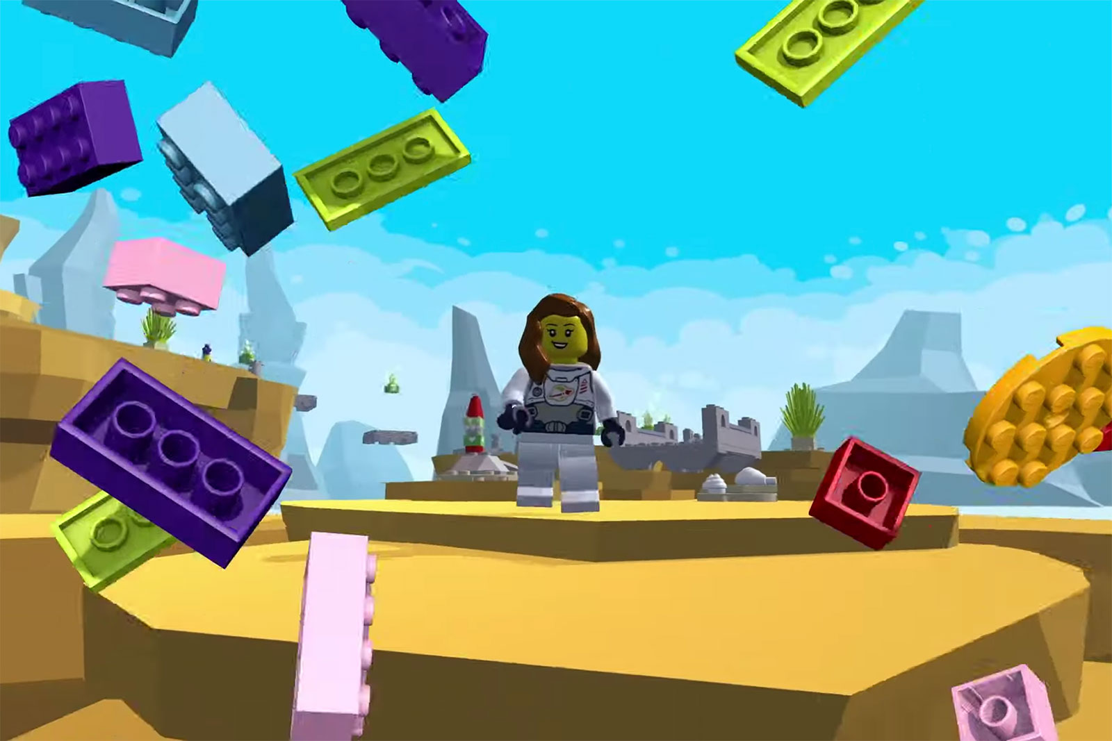 Lego and Unity help you create mini games without writing any code
