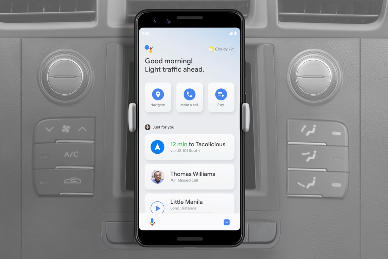 photo of Google Assistant's driving mode for Android is nearly ready, one year later image