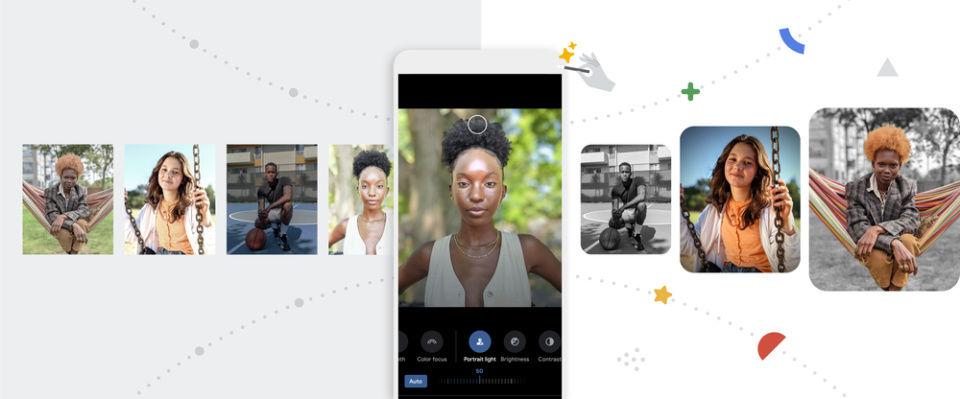 Google Photos Portrait Light