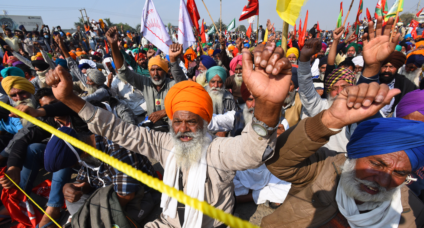 Indian farmers' protest