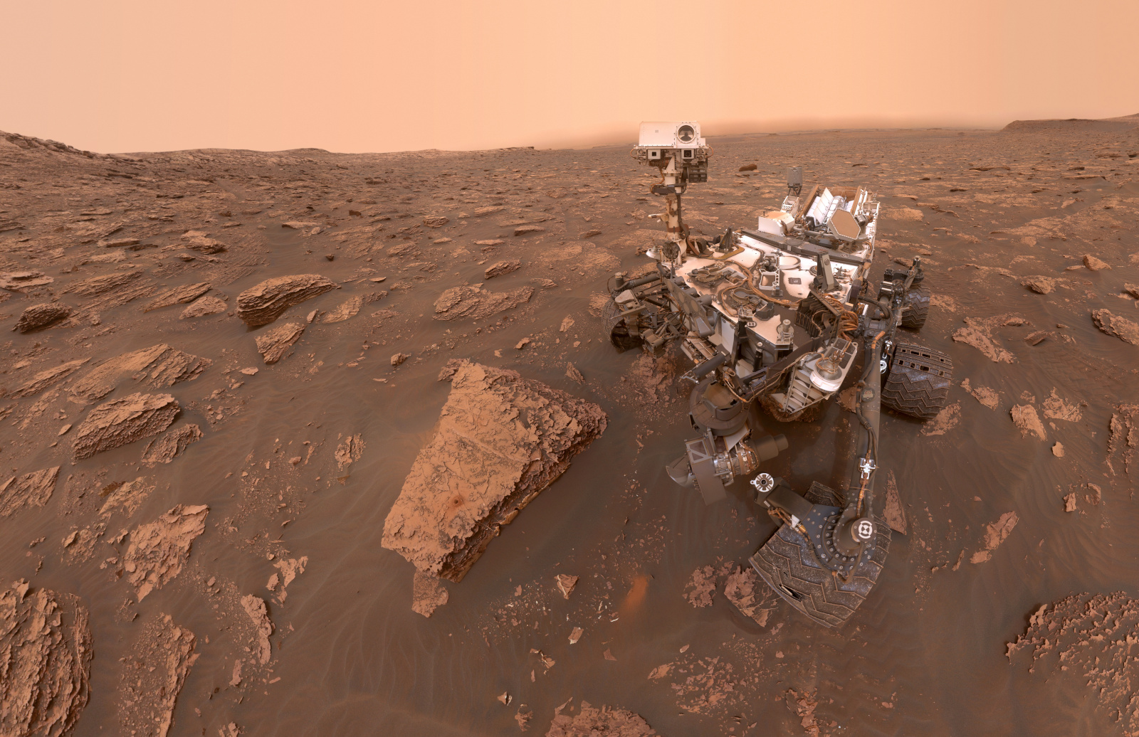 Curiosity rover finds evidence of ancient megafloods on Mars | Engadget