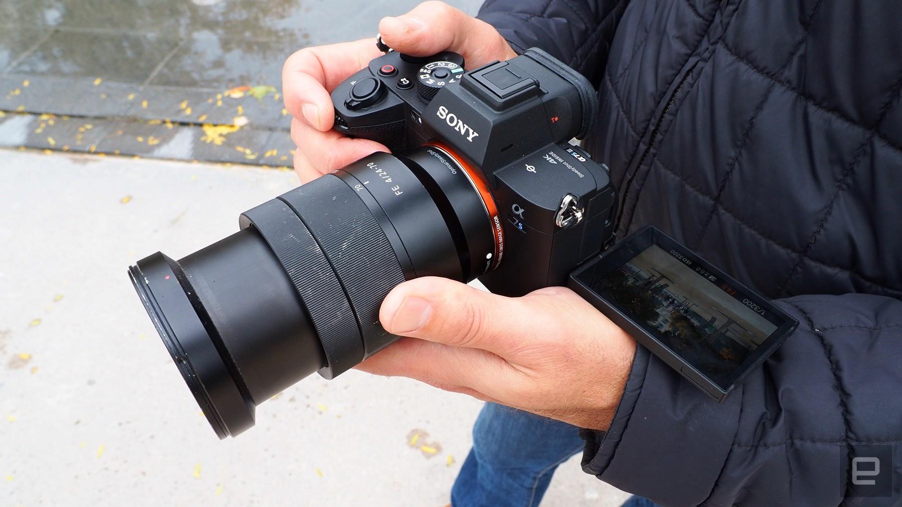 Sony 12.1-megapixel full-frame mirrorless camera