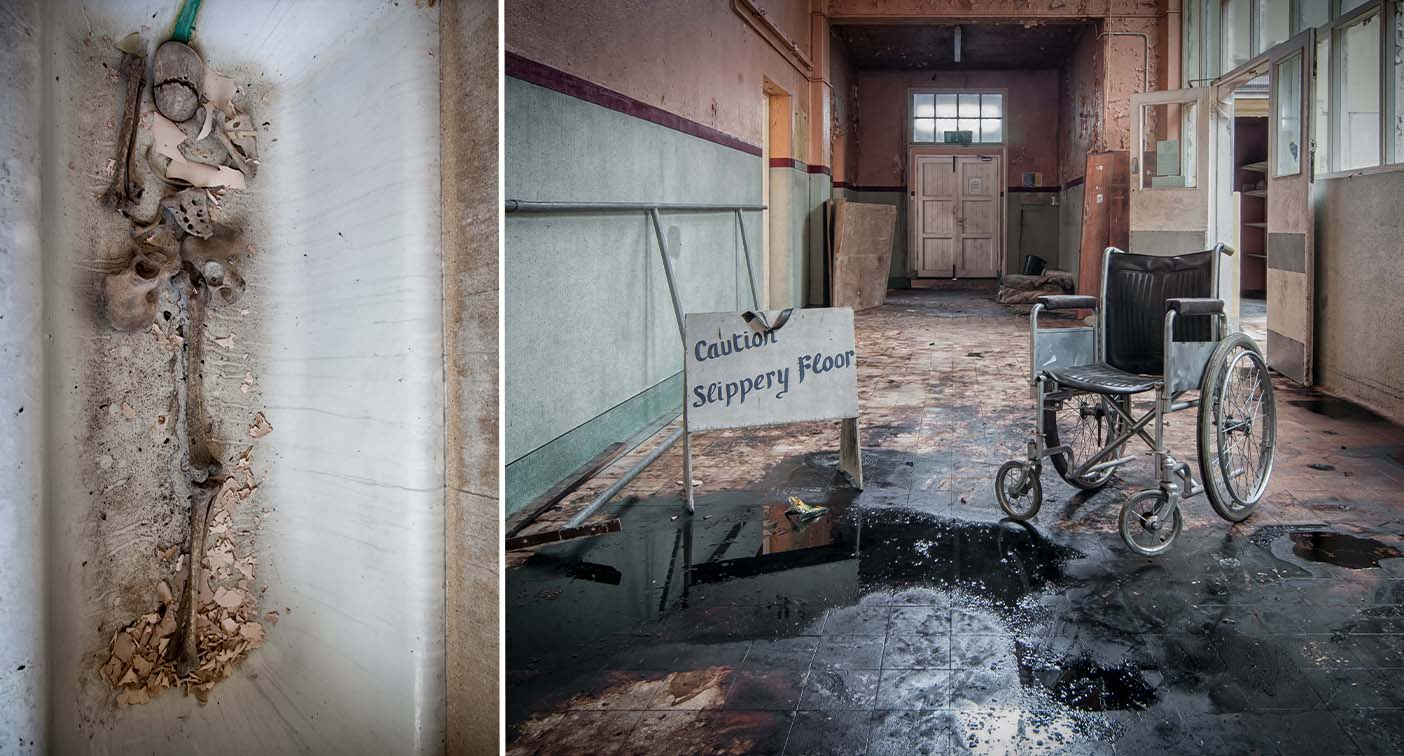 'Harrowing' images capture 'eerie' abandoned lobotomy asylum – Yahoo News Australia