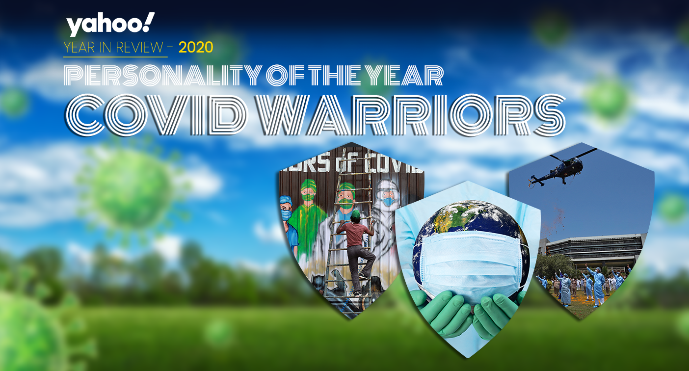 Yahoo India Personality of the Year 2020: COVID Warriors