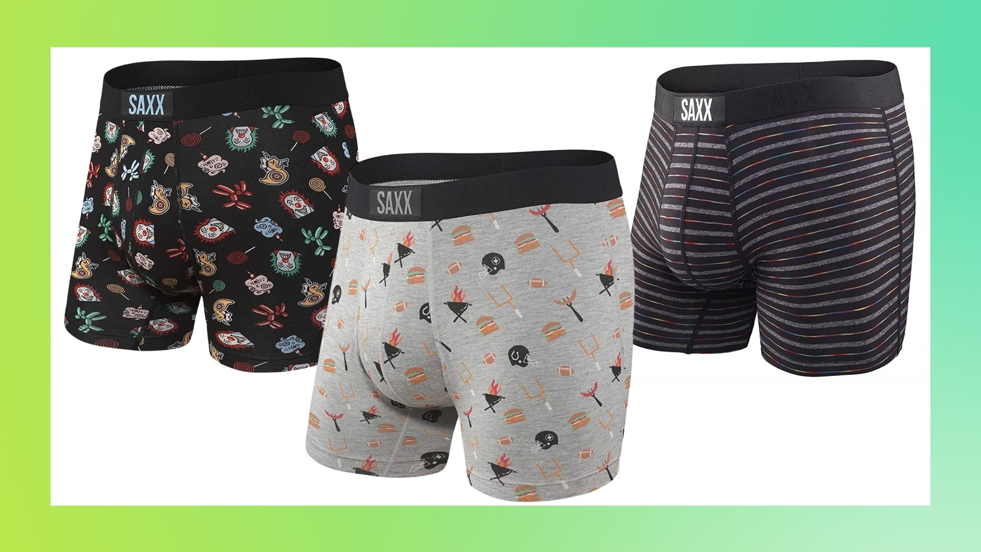 Saxx Vibe Boxer Briefs Canadiana Large