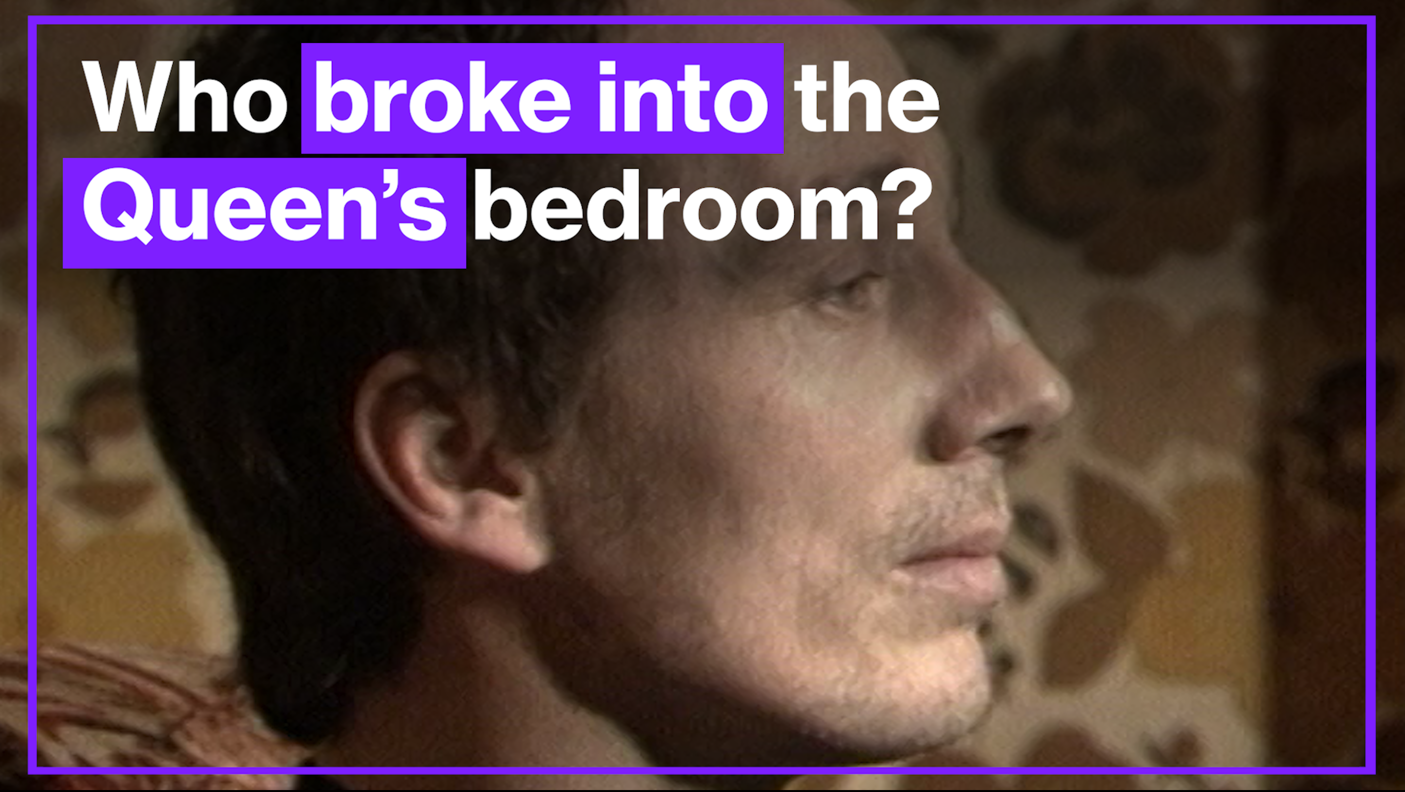Real Interview Footage With Michael Fagan The Man Who Broke Into The Queen S Bedroom