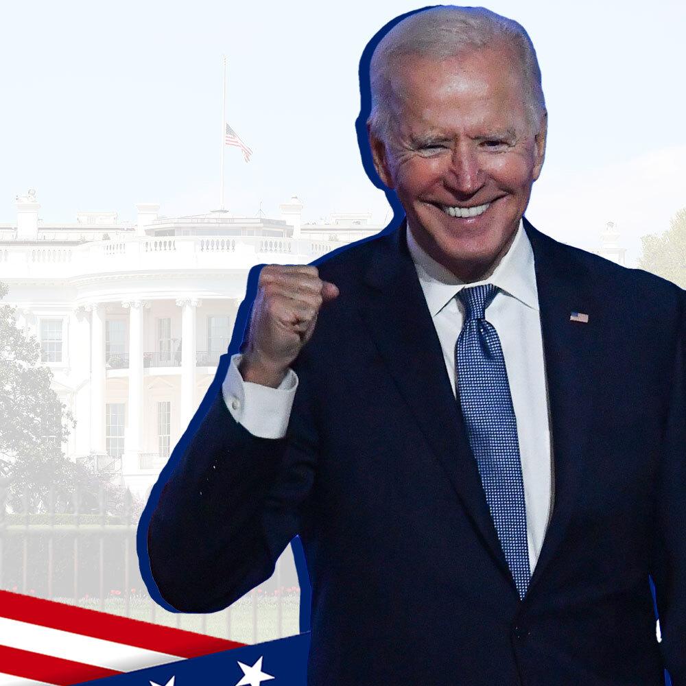 IT'S OVER: Joe Biden beats Donald Trump to win US election - cover