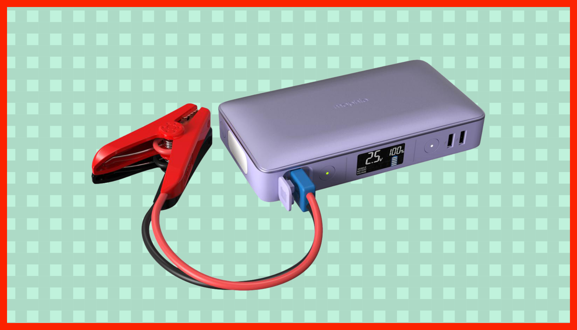 This laptop charger is so powerful it can jumpstart a car — and it's $50 off right now
