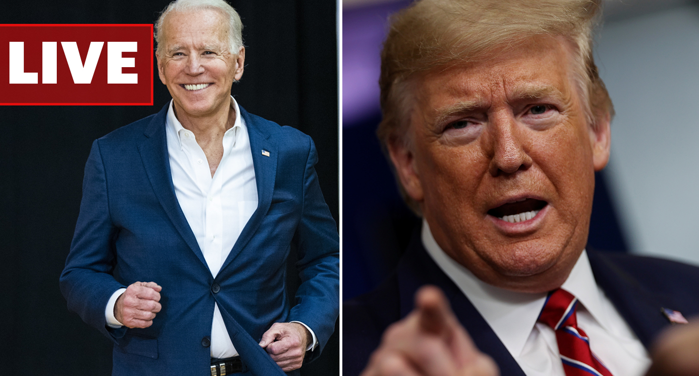 US Election LIVE: Trump's warning to Biden as networks wait to call election