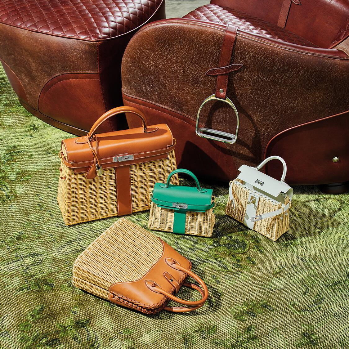 佳士得手袋及配飾部徵集了超過190件拍品,包括愛馬仕最珍罕難求的喜馬拉雅手袋及限量版系列等限量包款