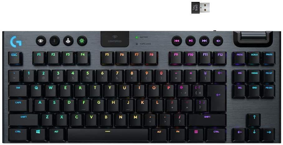 Logitech G915 TKL Tenkeyless Lightspeed keyboard