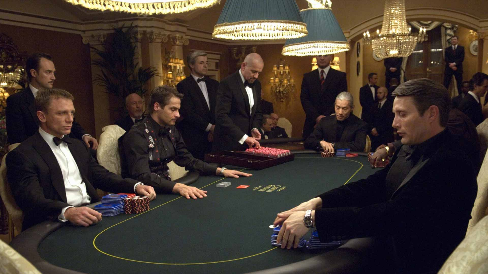 'Casino Royale' director reveals the secret to filming James Bond playing poker