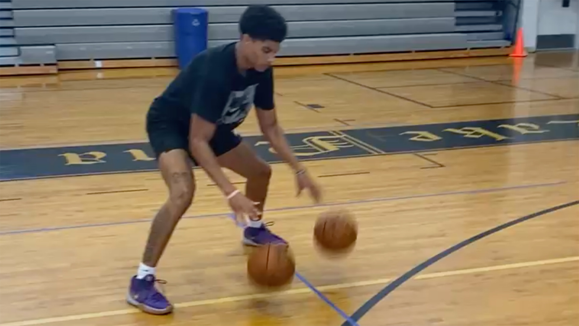 Killian Hayes workout video