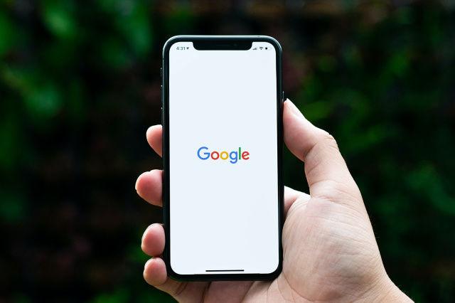 Google on iphone