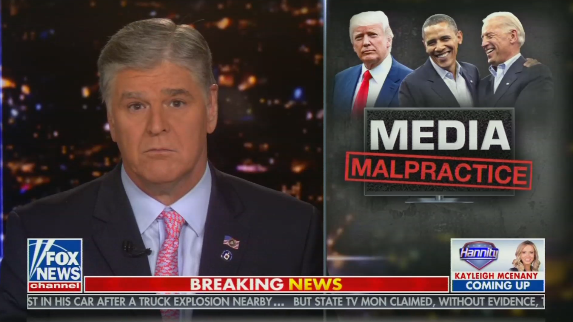 Sean Hannity makes bold admission: 'I do not vet the information on this program'