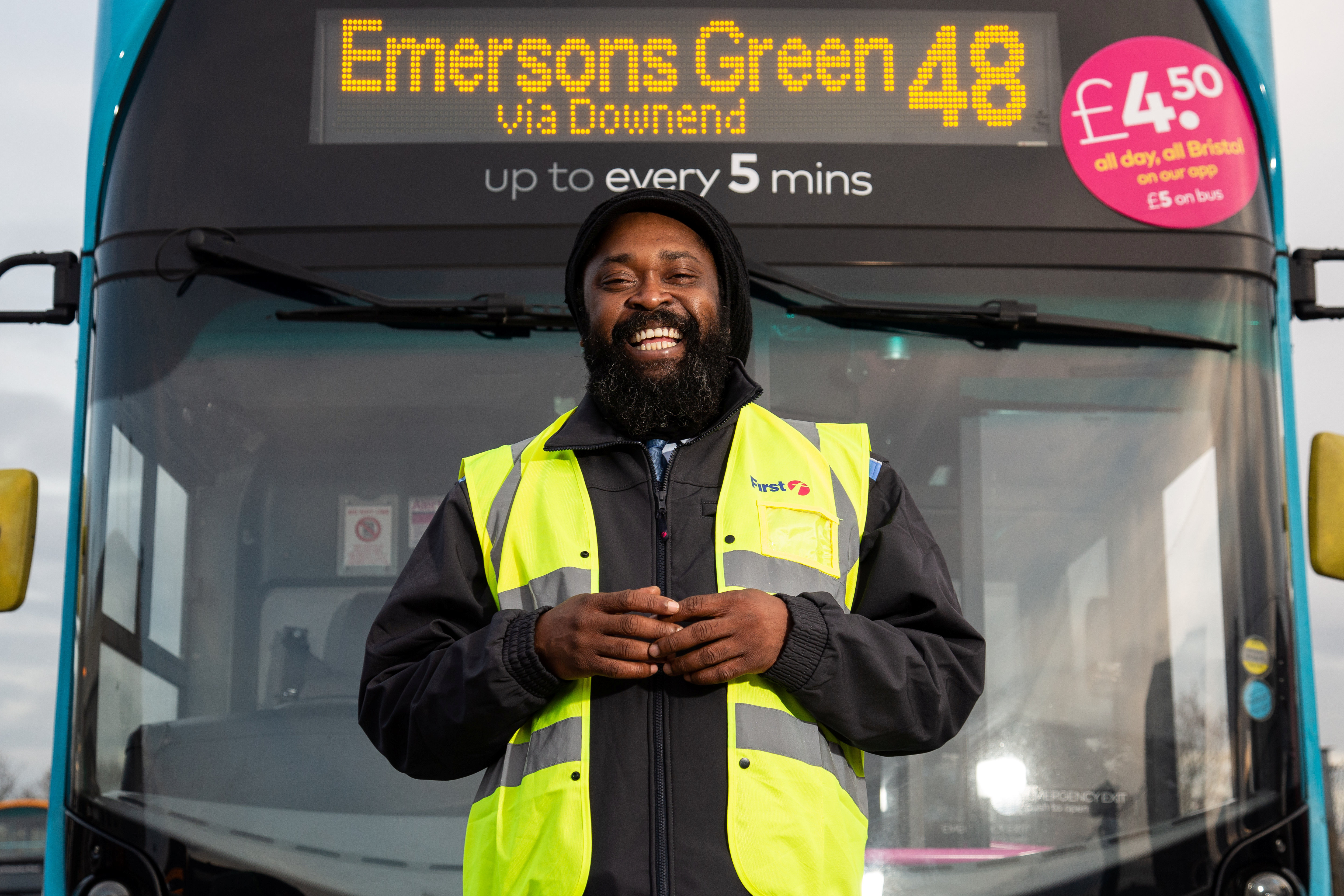 A bus driver who has spent years singing to his passengers is now driving forward as a music star - and has released his own album. Tuneful Roger Brady, 41, has spent over a decade entertaining commuters and shoppers with his reggae songs. He can be regularly seen and heard singing a tune in the cab of the 48/49 service as he drives around Bristol.Roger loves belting out one of his tunes which are all inspired by the stories of the people he encounters on his journeys. Now Roger - under the stage name Jah Garvey - has recorded an upcoming album titled 'Girls Dem'.