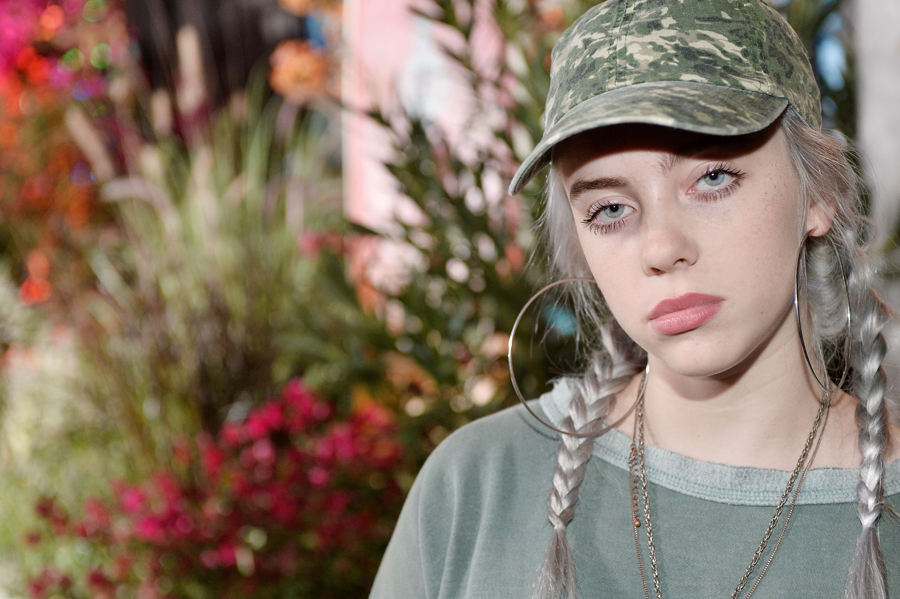 MALIBU, CA - SEPTEMBER 23:  Billie Eilish attends 14th Annual Teen Vogue Young Hollywood with American Eagle Outfitters on September 23, 2016 in Malibu, California.  (Photo by Stefanie Keenan/Getty Images for Teen Vogue)