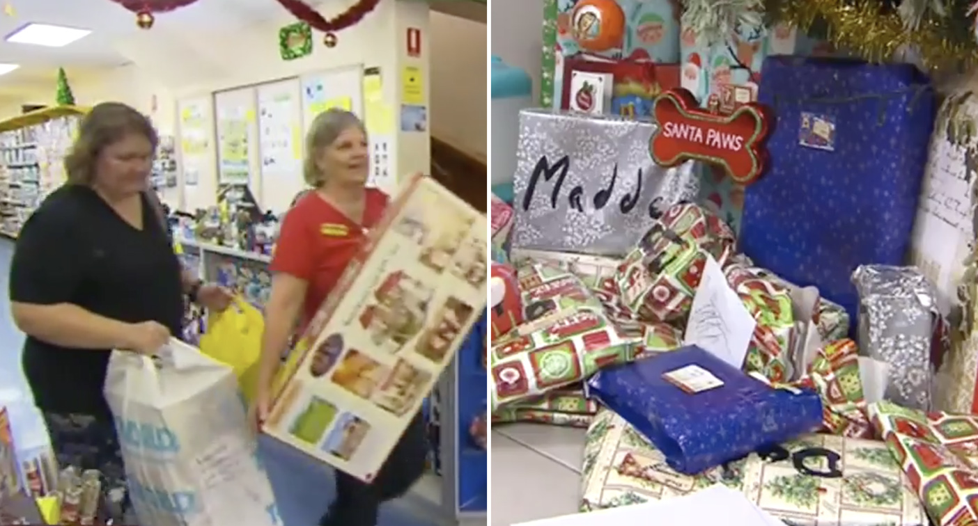 'Secret Santas' leave families in tears after paying off lay-bys