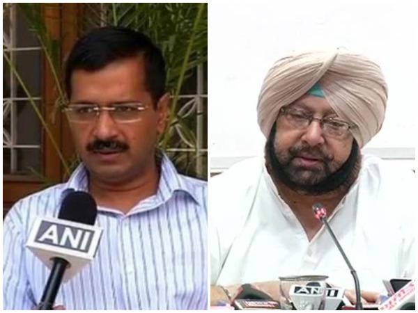 Arvind Kejriwal and Amarinder Singh in ugly social media spat over farmers' protest