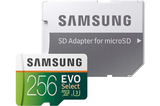 Samsung EVO Select microSDXC card (256GB)