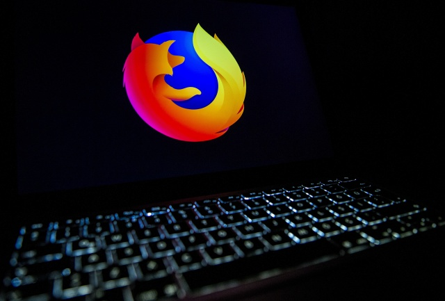 ANKARA, TURKEY - DECEMBER 10: In this illustration photo web browser Mozilla Firefox logo is seen displayed on a laptop screen in Ankara, Turkey on December 10, 2019. (Photo by Ali Balikci/Anadolu Agency/Getty Images)