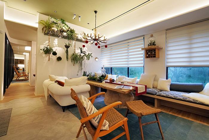 為長輩可規劃陽光起居空間,舒適感倍增。