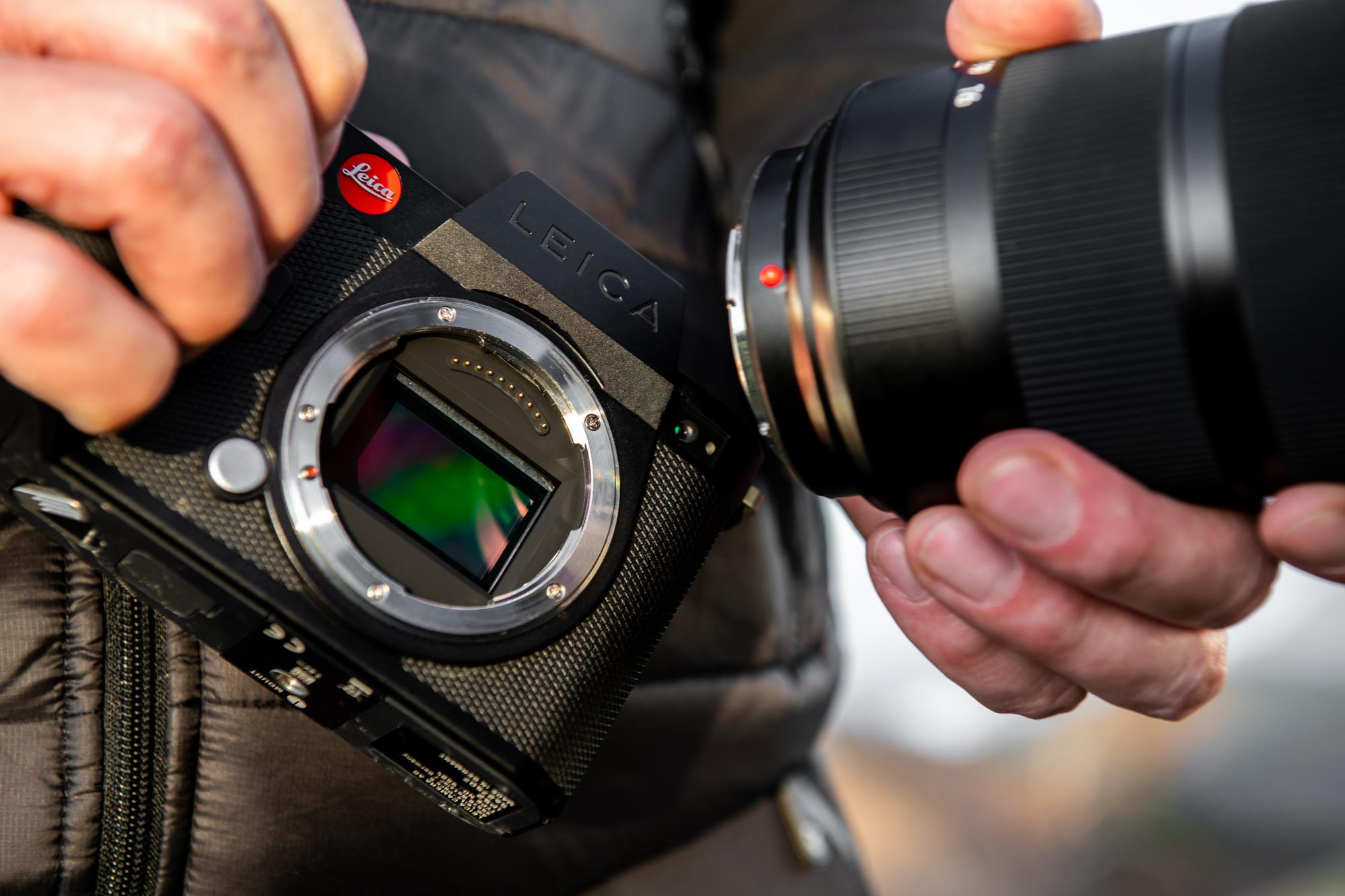Leica's SL2-S is a hybrid full-frame camera for the upper crust