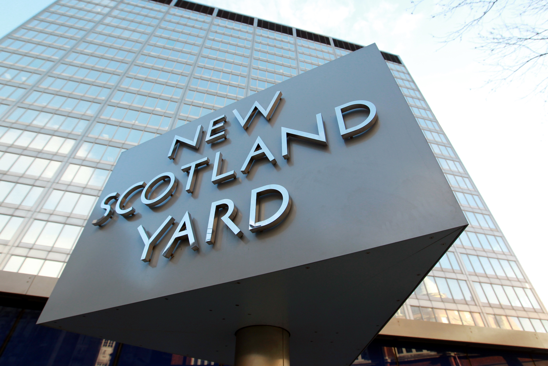 General view of the outside of New Scotland Yard.   (Photo by Sean Dempsey/PA Images via Getty Images)