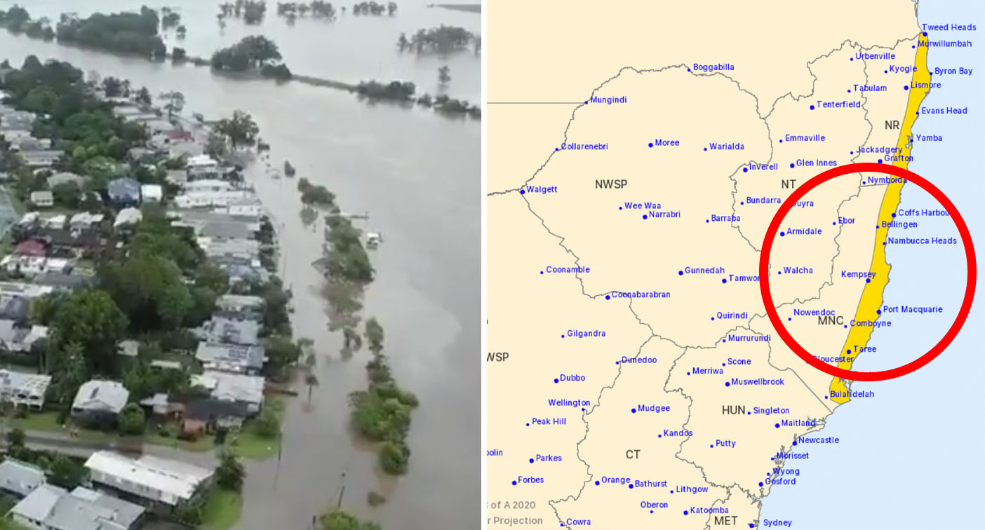 New flash flooding danger as treacherous storm conditions head south