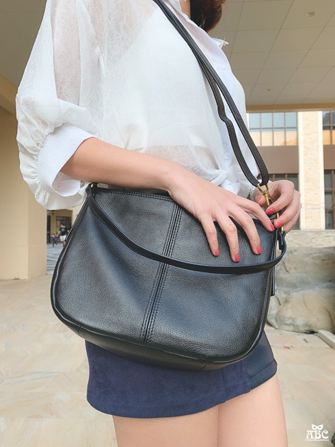 真皮包包保養必看!都會女性最愛FOSSIL真皮包款|辦公出遊2WAY斜肩背/手提兩用