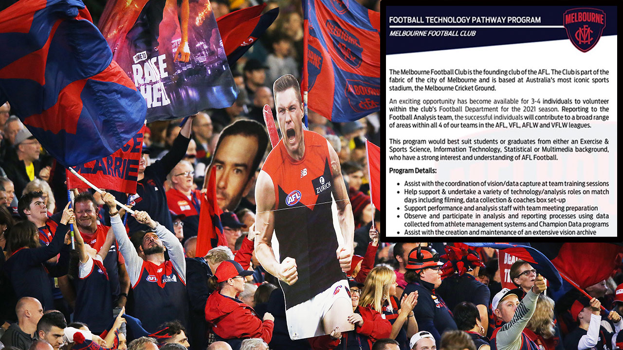 'That's disgusting': AFL club under fire over 'mind-blowing' job ad