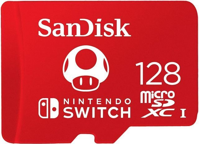 SanDisk microSDXC card for Nintendo Switch (128GB)