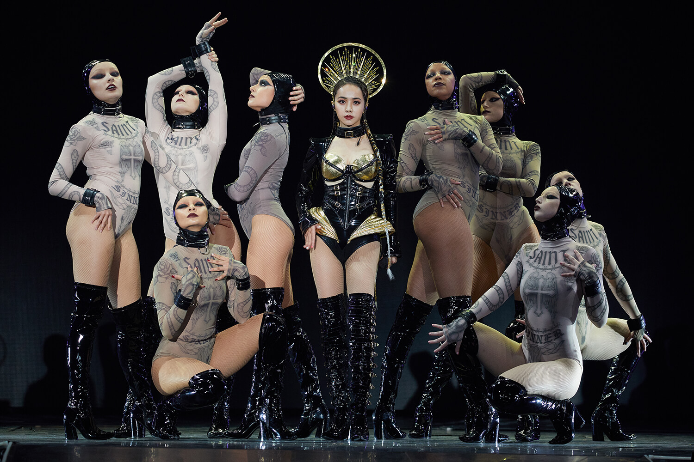 Jolin的《Ugly Beauty》世界巡迴演唱會第二站來到睽違七年的港都高雄開唱