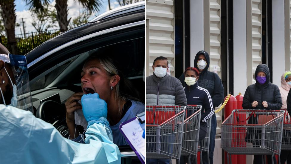 'Massive train wreck': How one event caused 300,000 coronavirus cases