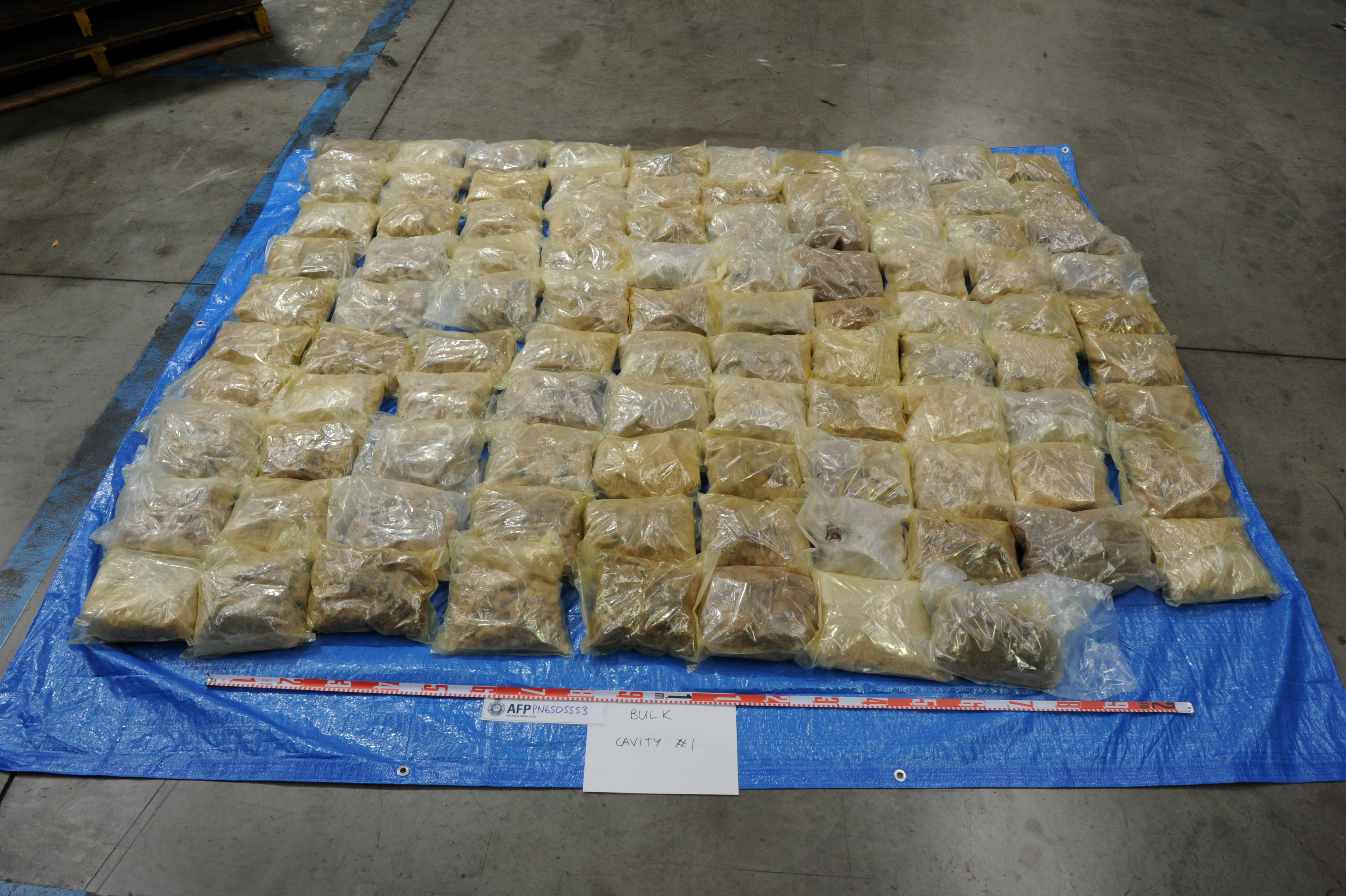In total five people were arrested over the drugs haul (swns)